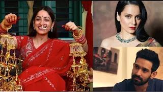 kangana-ranaut-calls-vikrant-massey-cockroach-for-comparing-yami-gautam-with-radhe-maa-on-her-wedding-picture