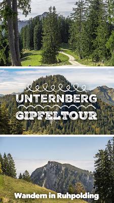 Unternberg Gipfeltour | Wandern Ruhpolding | Wanderung Chiemgau | Unternberg-Branderalm-Seehaus