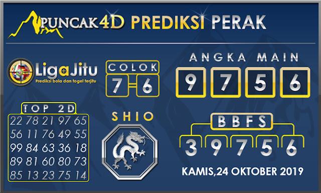 PREDIKSI TOGEL PERAK PUNCAK4D 24 OKTOBER 2019