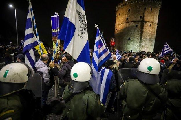 «Ήθελαν να τον σκοτώσουν!» - Μαρτυρίες σοκ για την επίθεση στον 29χρονο με τη σημαία στη Θεσσαλονίκη