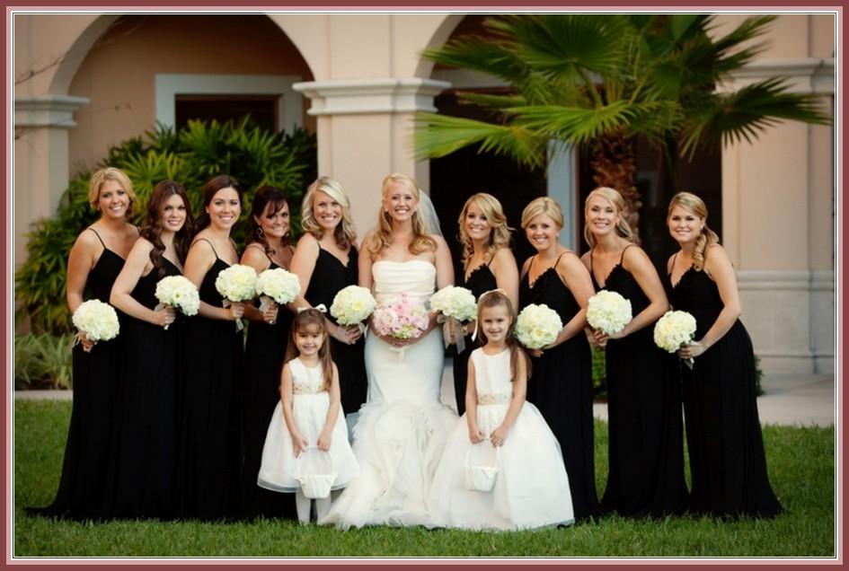 Wedding Dresses Australia 2016: Beautiful black bridesmaid ...