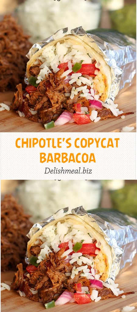 CHIPOTLE'S COPYCAT BARBACOA