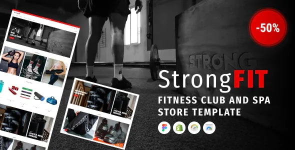 Fitness Club Shopify Theme for Beauty Spa Salon and Wellness Center