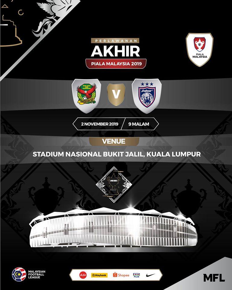 Keputusan Kedah Vs Jdt 2 11 2019 Final Piala Malaysia Yusufultraman Com