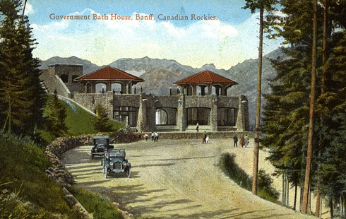 Cave Basin Vintage Banff National Park Alberta
