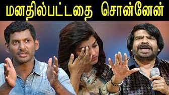TR Dhansika | vishal slams tr | t rajendar insulting speech on dhansika