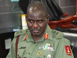 Chief Of Army Staff (COAS) Lt Gen. TY Buratai