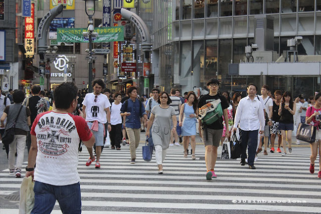 Shibuya famous crossing in Tokyo