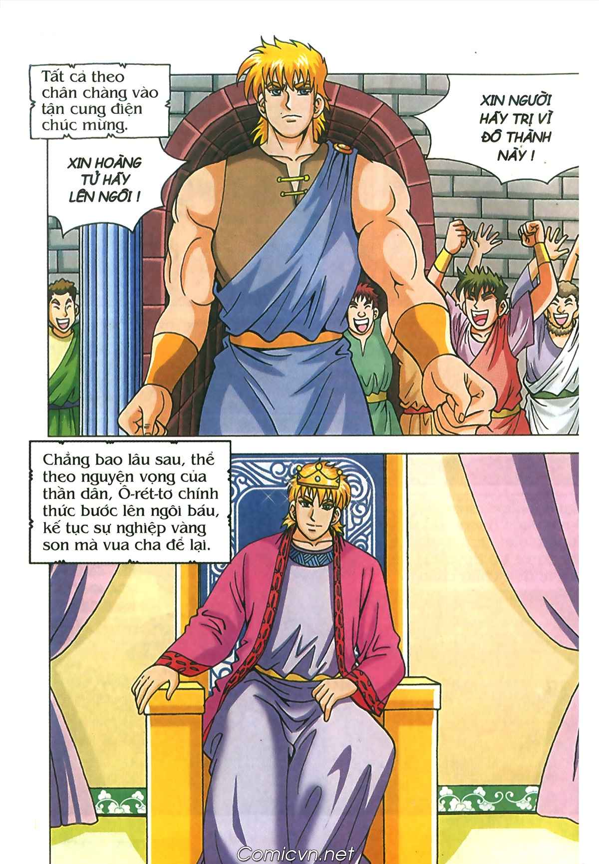 Thần Thoại Hy Lạp Màu - Chapter 72: Phán quyết của Nữ thần Athena - Pic 9