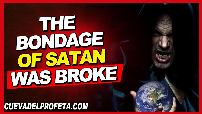 The bondage of Satan was broke - William Marrion Branham