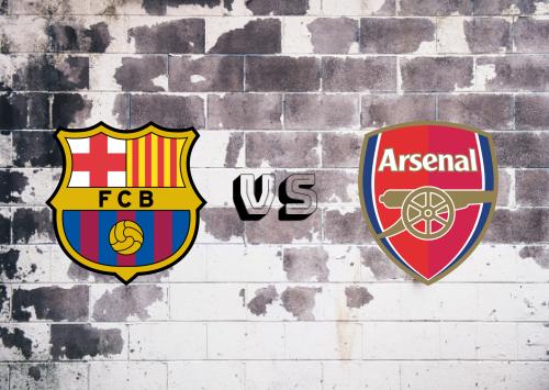 Barcelona vs Arsenal  Resumen y Partido Completo