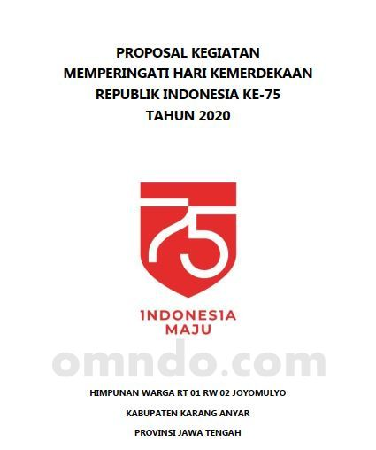 cover proposal 17 agustus 2020