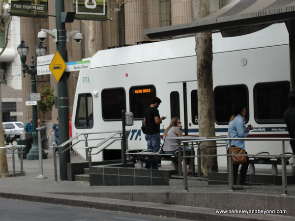 Light Rail in San Jose, California