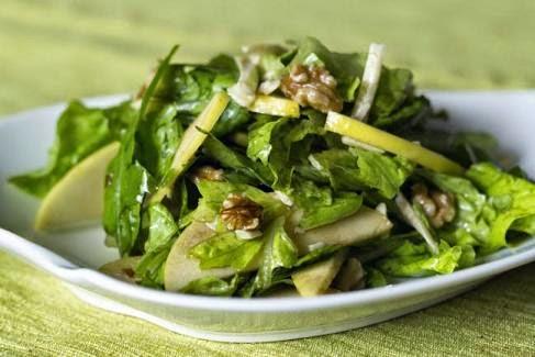 Ensalada de manzana verde