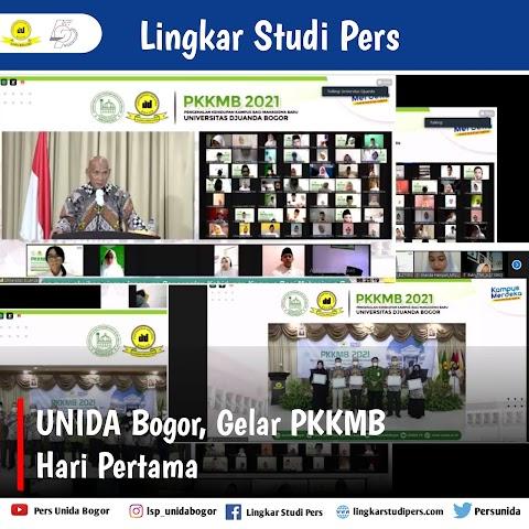 UNIDA Bogor, Gelar PKKMB Hari Pertama