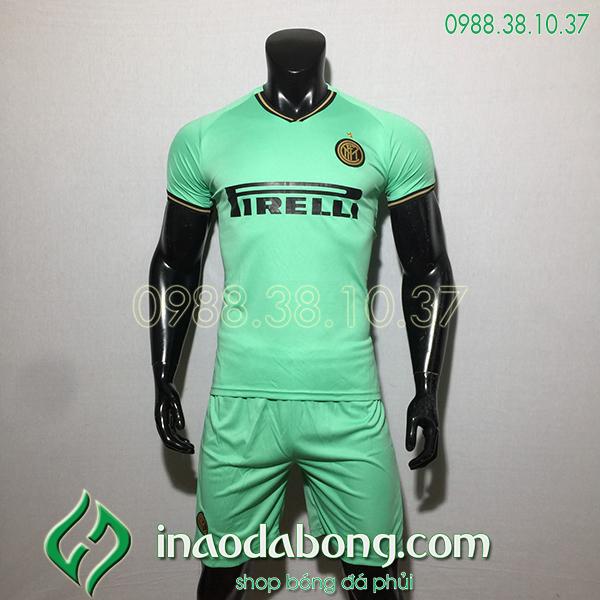 Áo bóng đá câu lạc bộ Inter Milan màu xanh 2020