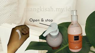 fregrance brightening body lotion