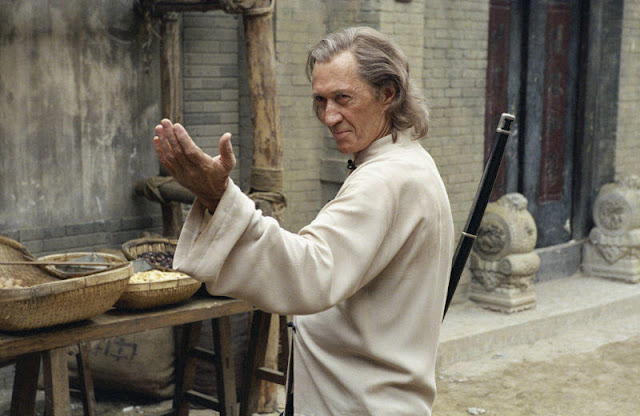 David Carradine in a scene deleted from Kill Bill Vol. 2