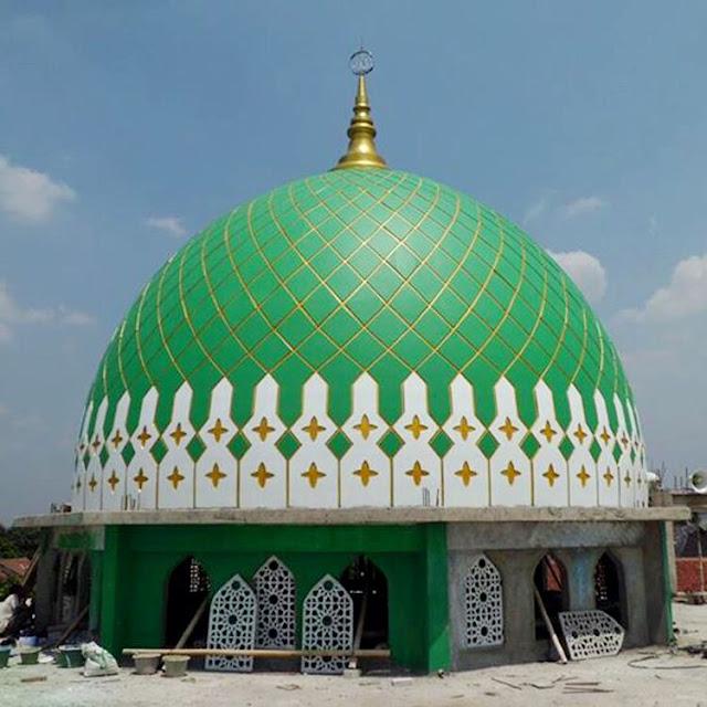 Kubah Masjid Dibuat Bulan dan Bintang, Ternyata Sumbernya Langsung Dari Rasulullah