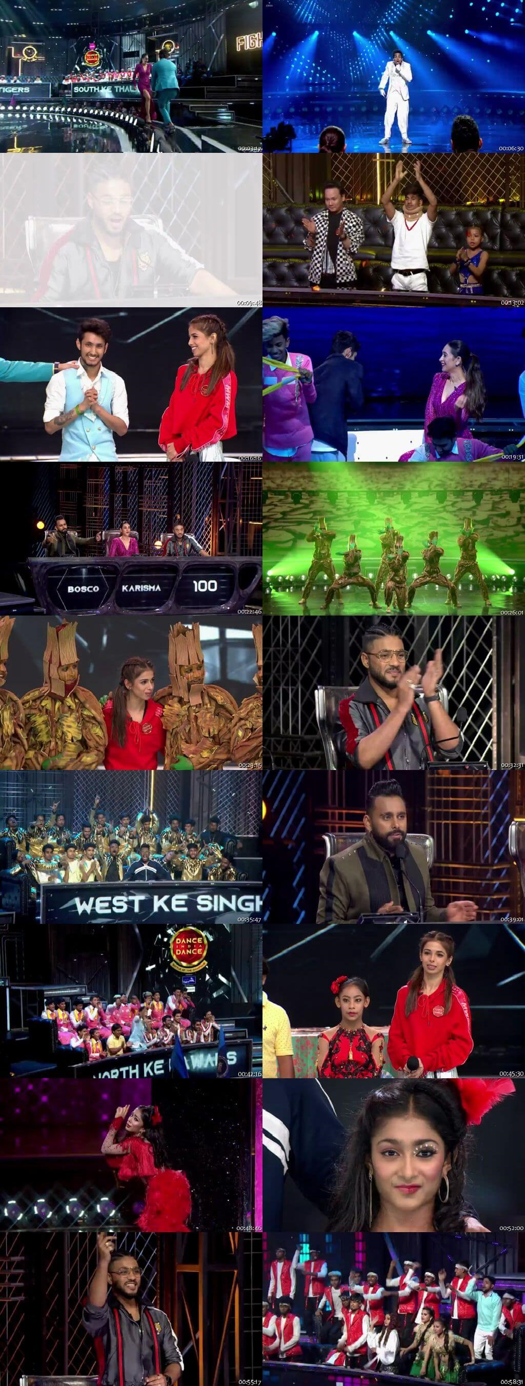Screenshots Of Hindi Show Dance India Dance Battle of the Champions Season 7 13th July 2019 Episode 07 300MB 480P HD