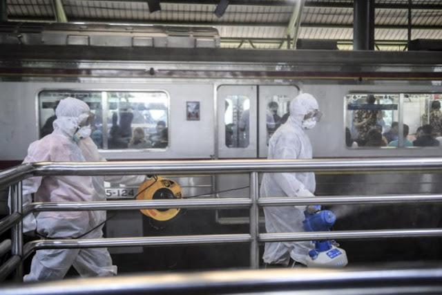 Hari ini Pemprov DKI Jakarta Akan Lakukan Penyemprotan Desinfektan di Lima Wilayah Kota Administrasi