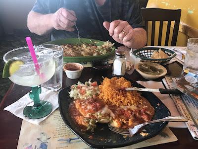 Dinner at the Hacienda Mexican Resturant, Anchorage Alaska
