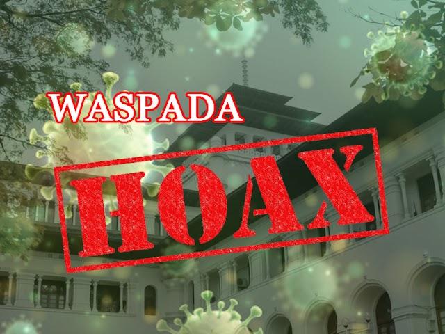 Cek Fakta Hoaks Covid-19 yang Beredar di Bandung Sampai 1 April 2020