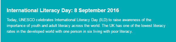 International Literacy Day 2016