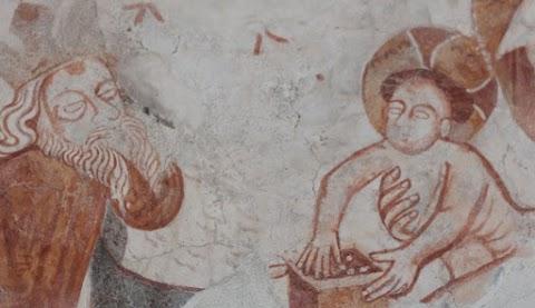 Szombaton átadják a székelyföldi gidófalvi református templom restaurált falképeit