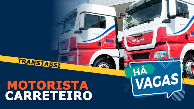 Trans Tassi abre vagas para Motorista Carreteiro