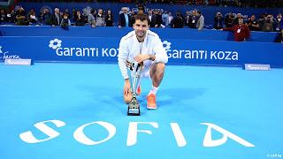 Grigor Dimitrov wins Sofia Open title