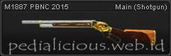 senjata point blank M1887 PBNC 2015
