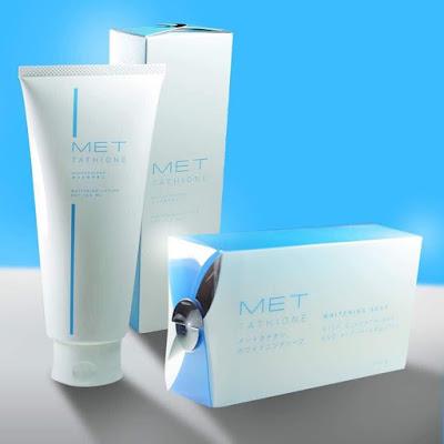 MET Tathione Paket Whitening (Lotion + Soap)