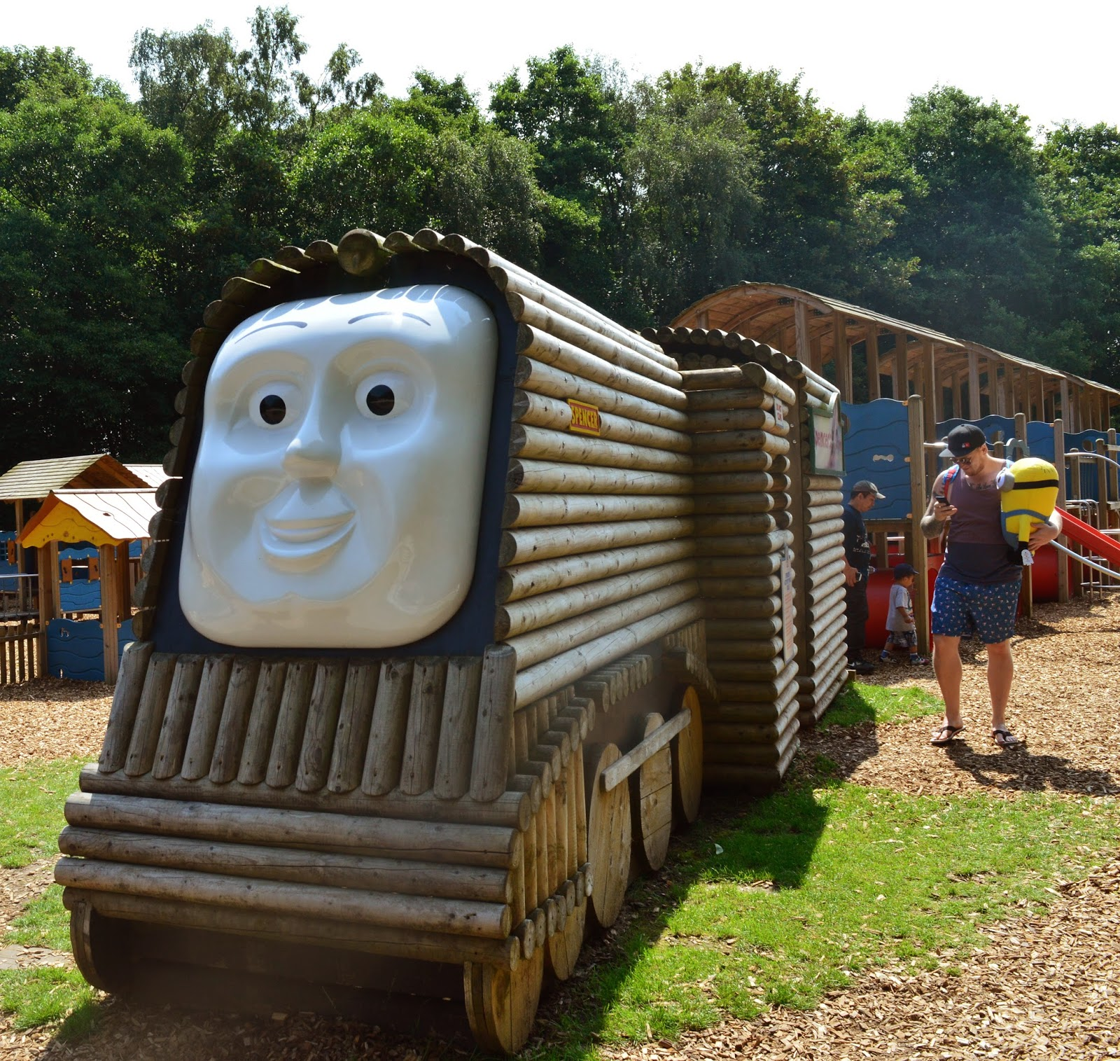 20+ UK Days Out for Children who Love Trains  - thomas land
