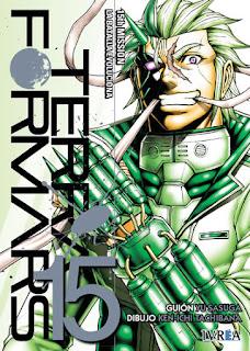 TERRA FORMARS 15 MISSION LA BATALLA...  Manga de YU SASUGA, KEN-ICHI TACHIBANA 15TH MISSION LA BATALLA EVOLUCIONA