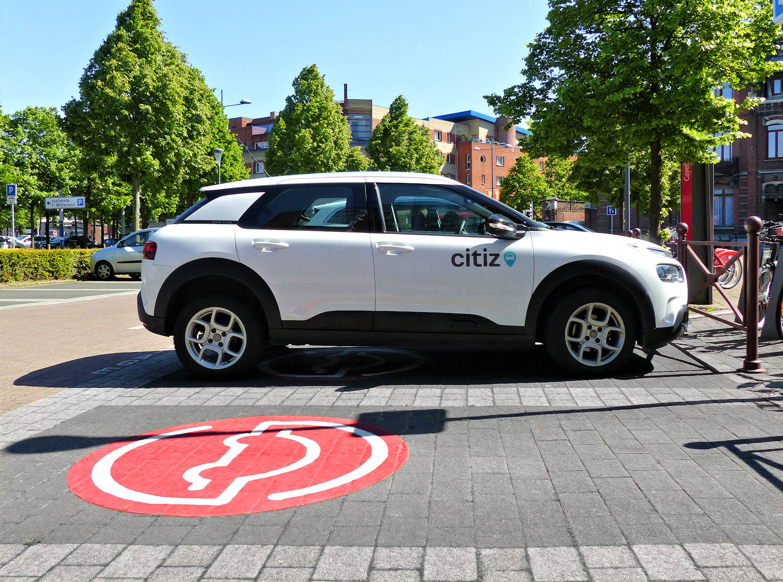 Citiz Autopartage - Station Cavell, Tourcoing
