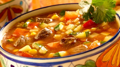 Ancho Chili Beef Vegetable Soup