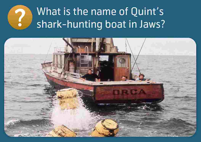 What is the name of Quint's shark-hunting boat in Jaws?