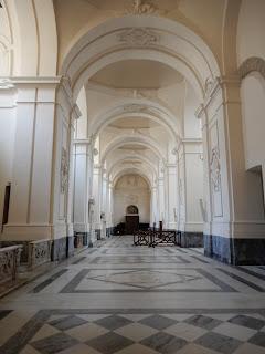 サレルノ大聖堂内部風景