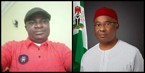 Omini Slams Uzodinma, He Says He's 4Th Class Governor, He Needs Urgent Physiatric Test.