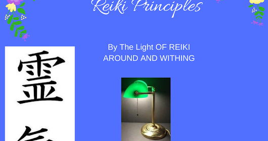 Working Honestly Reiki Principle4