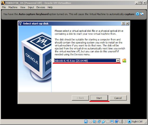 install mikrotik os di virtualbox