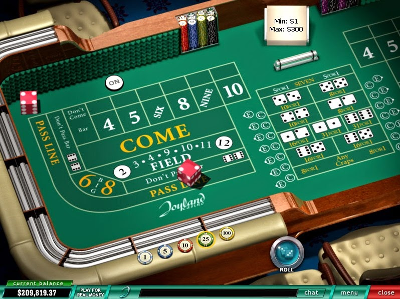 Joyland Casino Roulette Screen