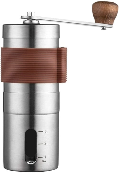 Shulemin Stainless Steel Hand Coffee Bean Grinder
