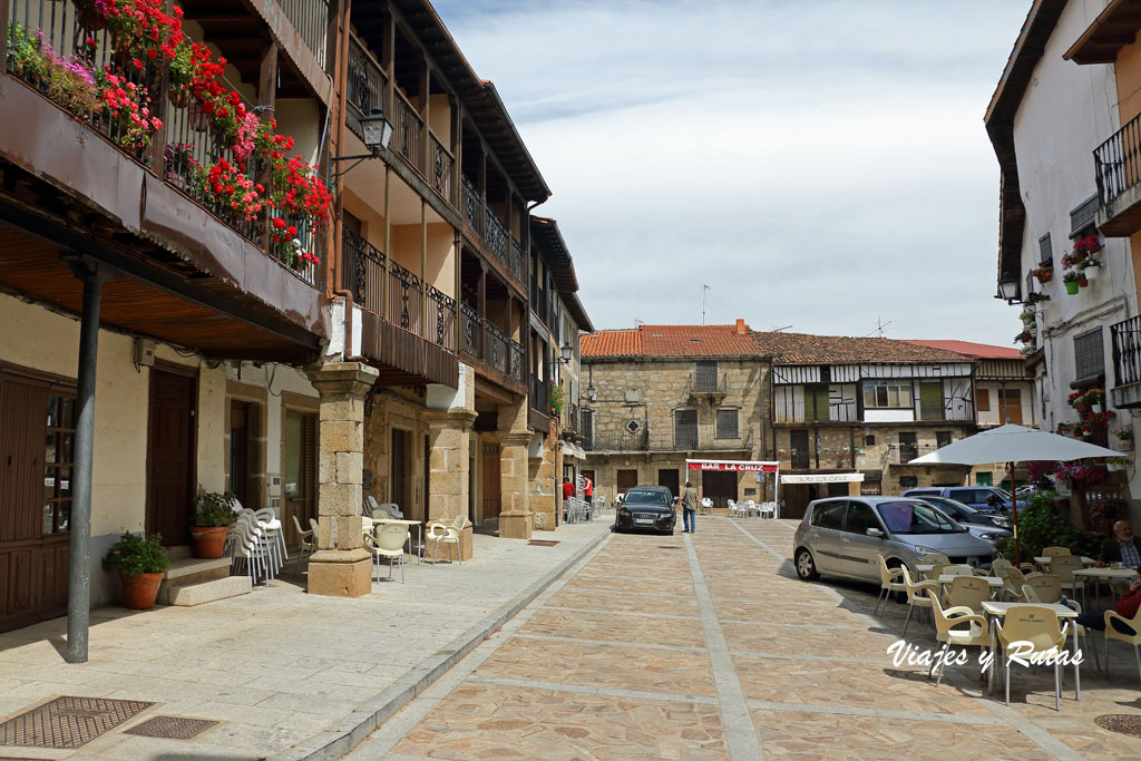 Plaza del Altozano de Sequeros