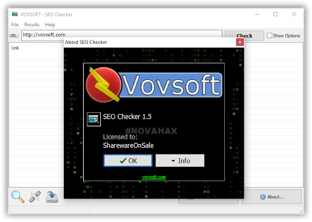 Vovsoft seo checker license key