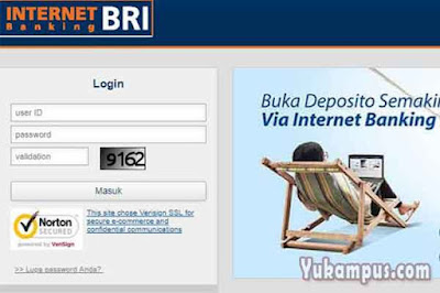 cara mengetahui user id password internet banking bri
