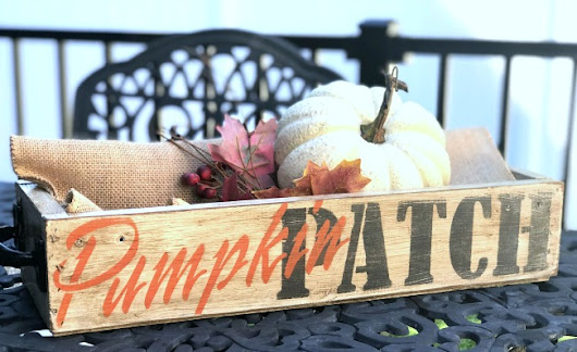 Make a New Pumpkin Patch Crate Look Old | Homeroad