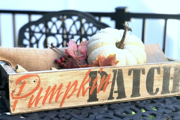 Make a New Pumpkin Patch Crate Look Old