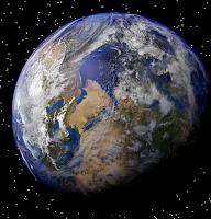 Ziemia Wibrujsca w Kosmosie